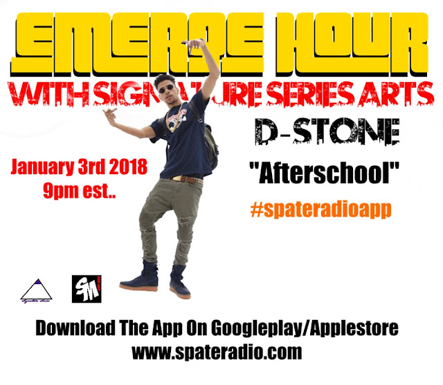 The Emerge Hour With Signature Series Arts & Spate Media