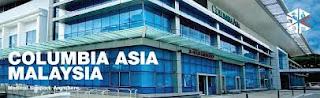 kerja kosong terkini Columbia Asia Malaysia