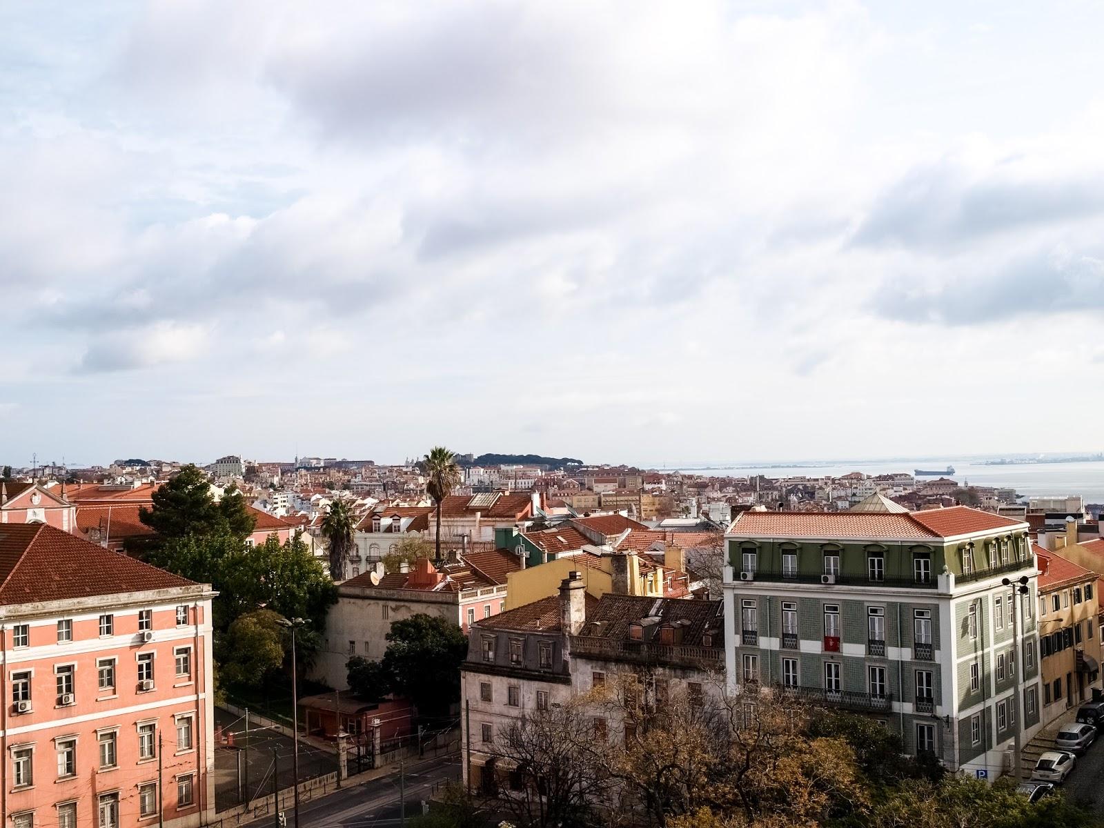 Jardim De Estrela view from the top