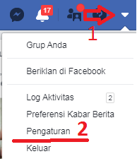 cara blokir facebook orang lain