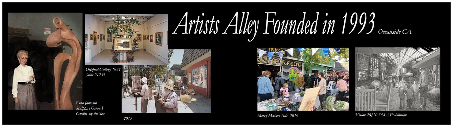 Founder of Artist Alley Oceanside CA
