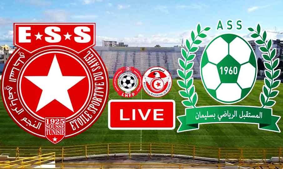 Match Etoile du Sahel VS AS Soliman Live Stream