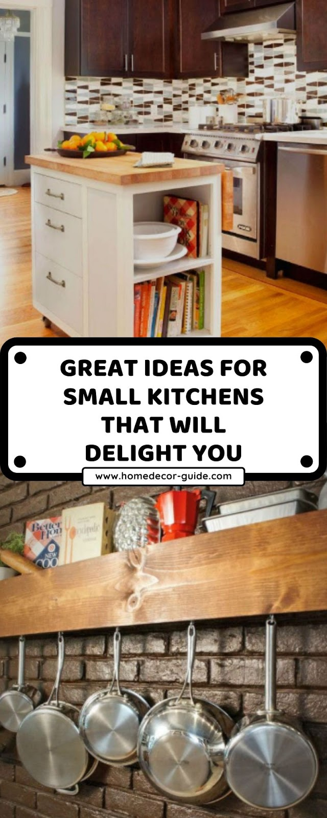 GREAT IDEAS FOR SMALL KITCHENS THAT WILL DELIGHT YOU