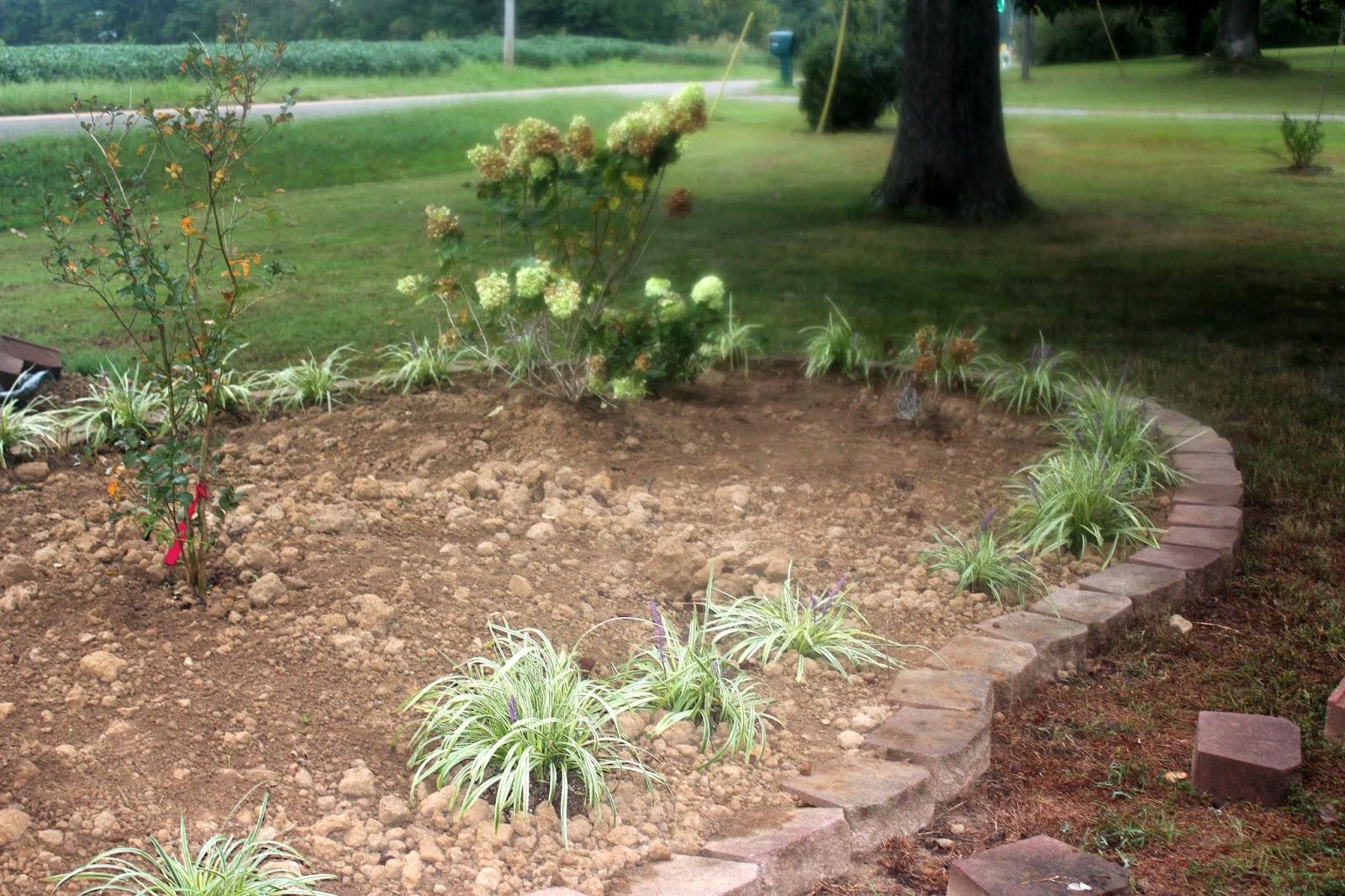 JBigg: Life in Kentucky: Flower Bed Project Update