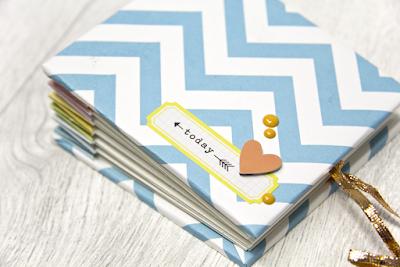 Minibook mit Anleitung #Scrapbooking #Tutorial #designteam
