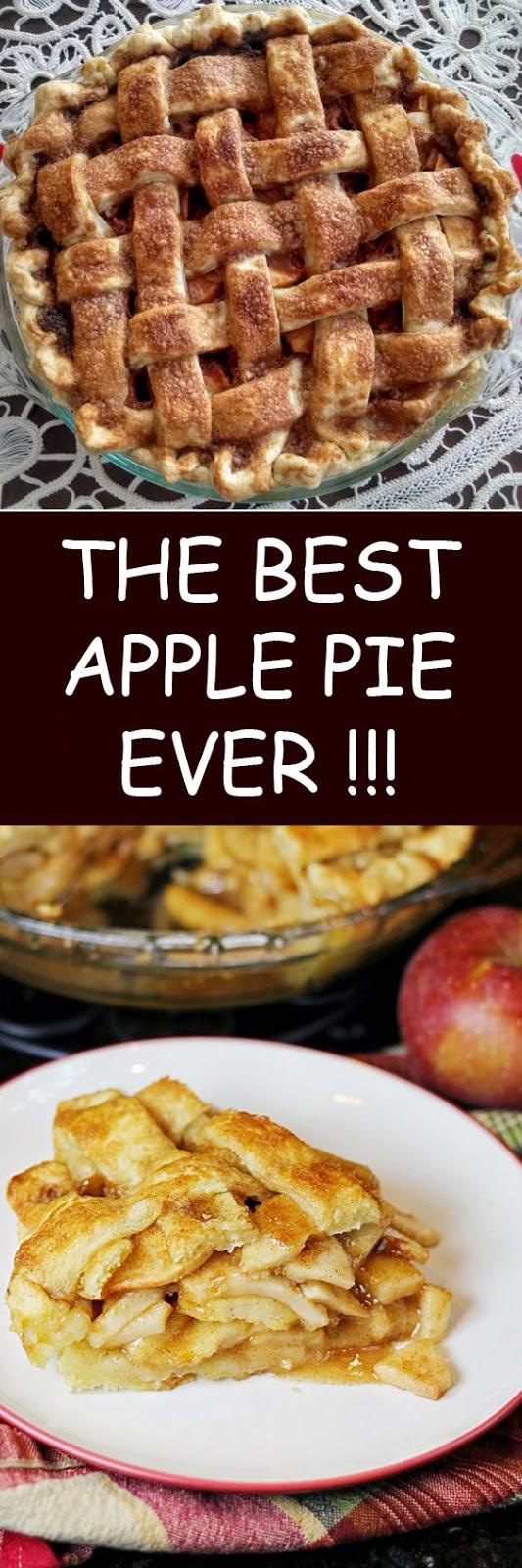 The Best Apple Pie Ever