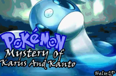 Pokemon Mystery Of Karus And Kanto para GBA Imagen Portada