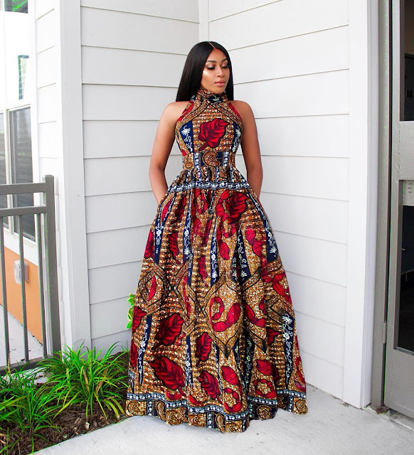 2020 Latest and Lovely Ankara Long Gown Styles