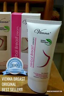 Cream Vienna Breast BPOM Original Best seller untuk memperbesar, mengencangkan, membuat payudara montok juga seksi
