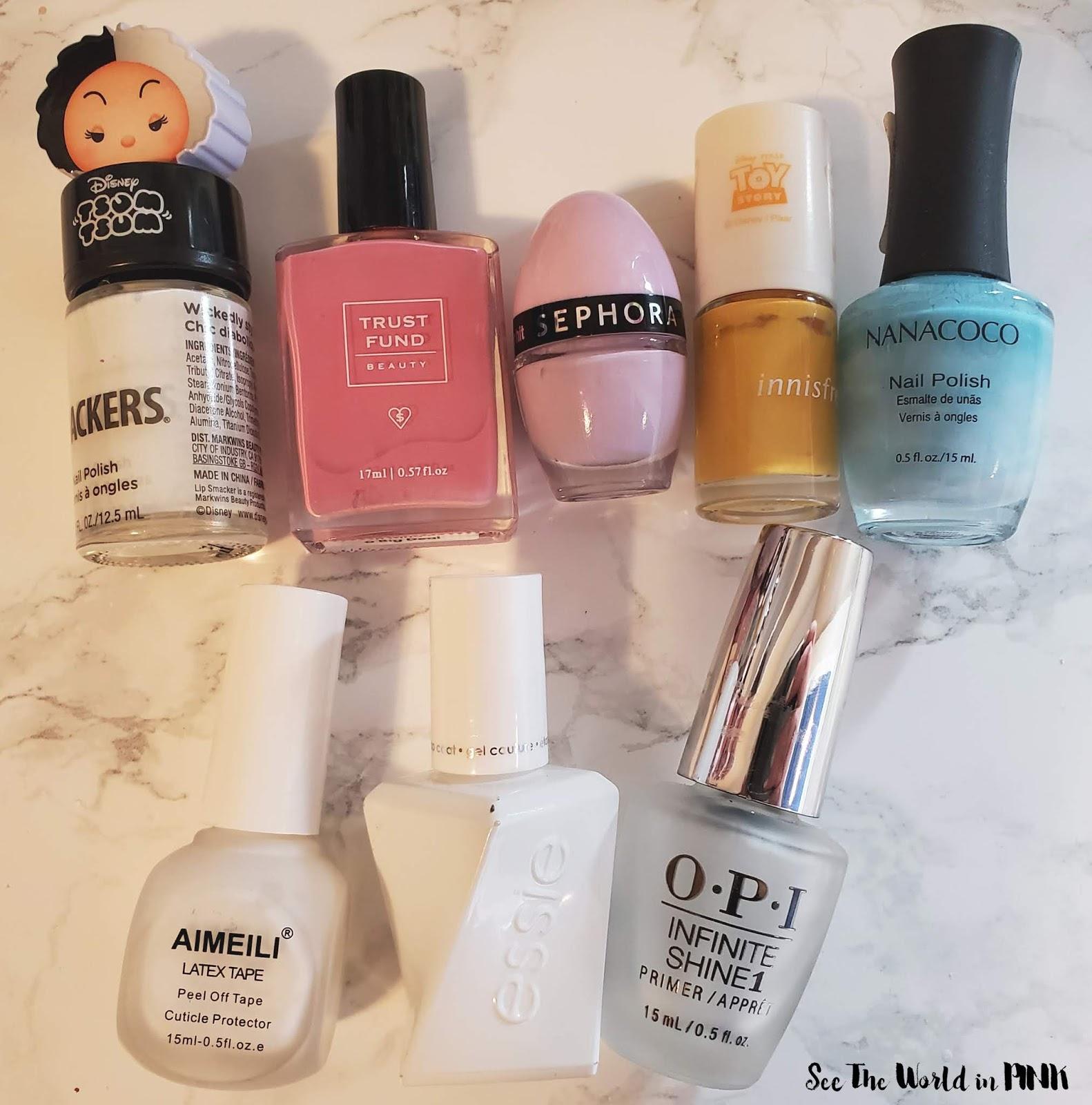 Manicure Monday - Tie Dye Nails