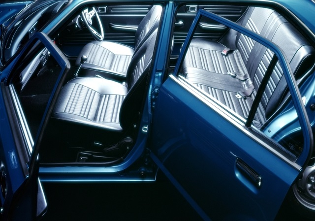 Honda Civic First Gen 5-door interior photo
