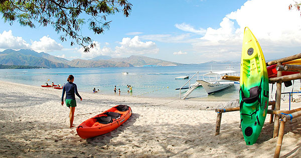 Camayan Beach Resort in Subic Bay
