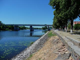 Пина. Пинск. Реставрация набережной в 2018 году