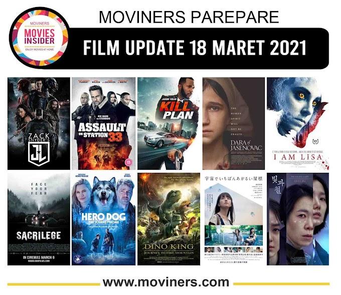 FILM UPDATE 18 MARET 2021