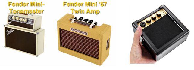 Mini Amplificadores para Guitarra Eléctrica Stack y Combo