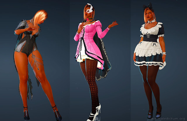 Black Desert Online: россыпь чисто косметических нарядов по цене AAA игры