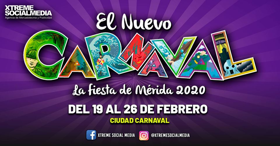 Carnaval de Merida 2020