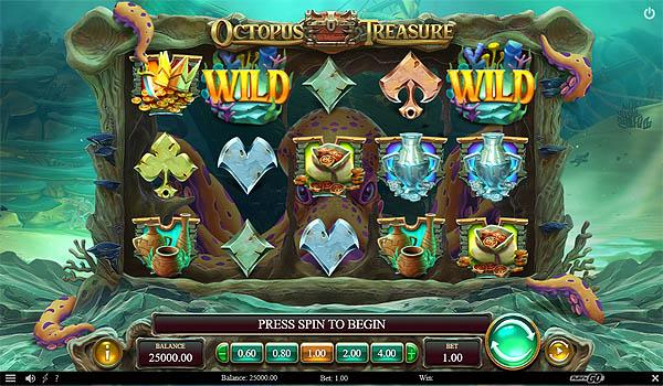 Main Gratis Slot Indonesia - Octopus Treasure (Play N GO)