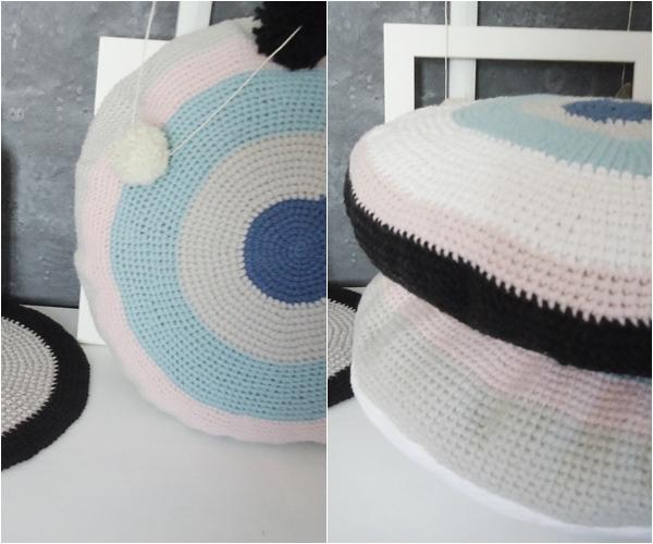 poduszki diy, dodatek w stylu skandynawskim
