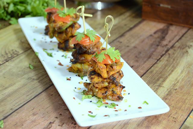 Achari Chicken, Chicken kabab, Achari masala powder