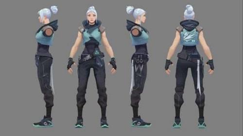 Jett là 1 trong những nữ điệp báo cơ động trong vòng trò chơi Valorant