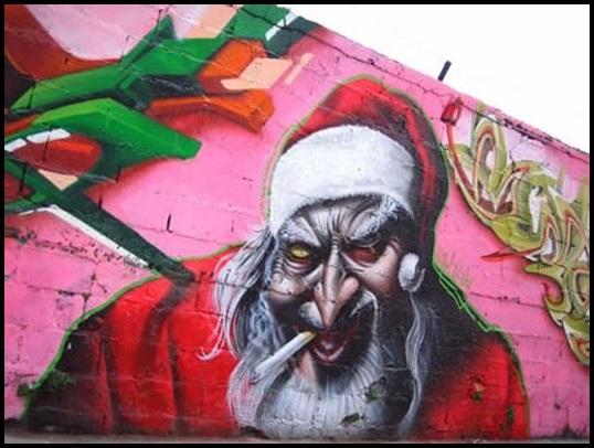 Graffiti Weihnachten