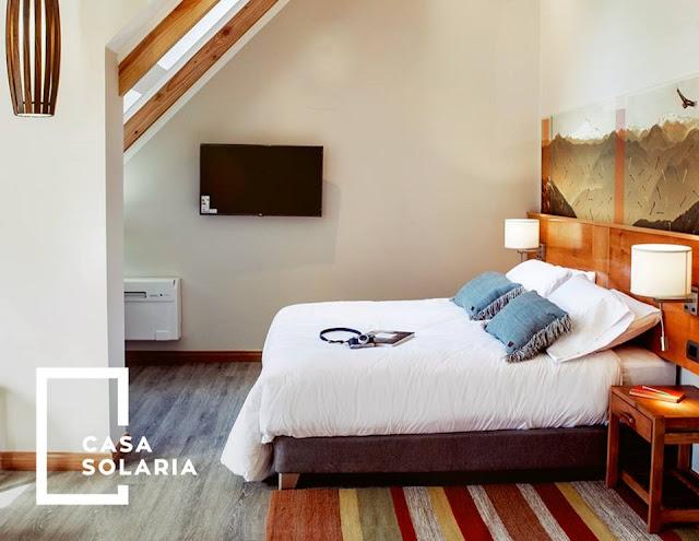 Quarto do Hotel Casa Solaria em Pucón