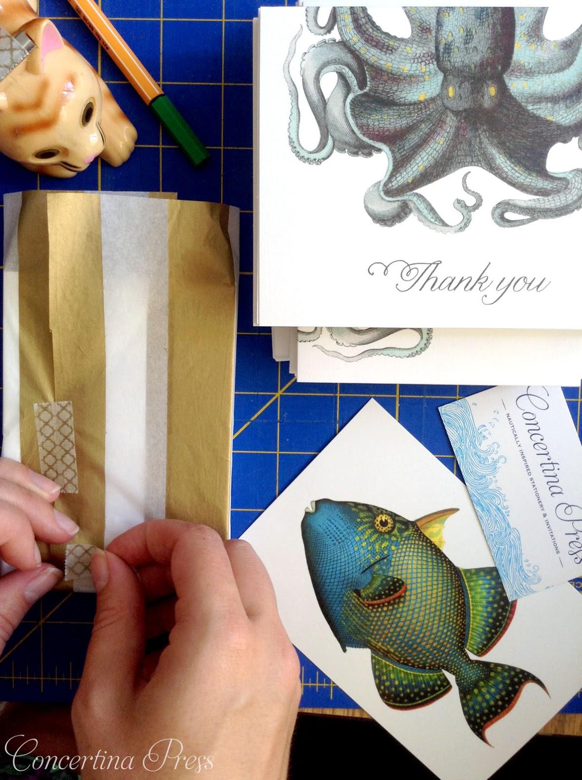 Concertina Press Wedding Packaging