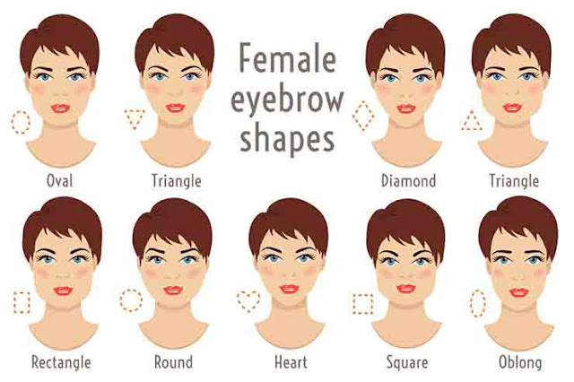 How to find the perfect eyebrow shape round-faced