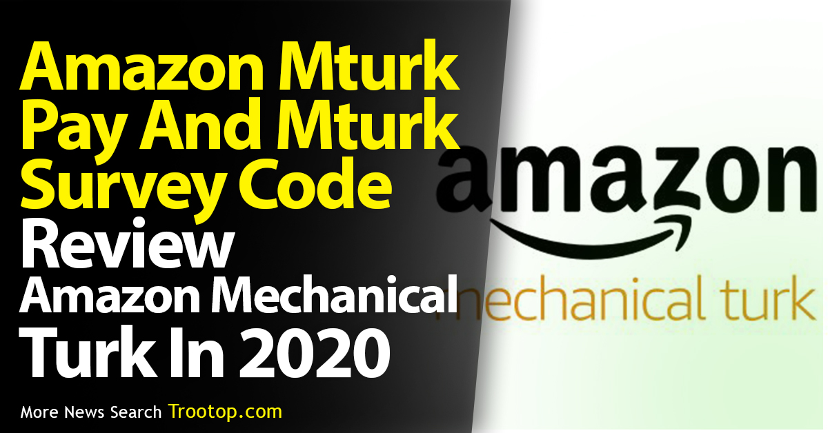 Amazon mechanical turk pay review and amazon jobs easy to get paid.