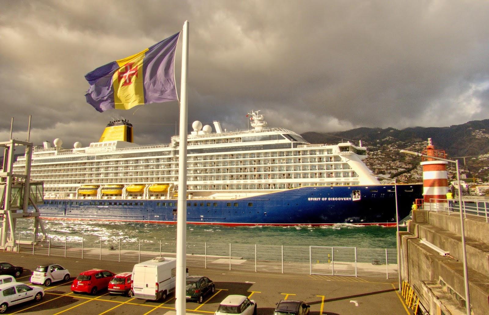 Spirit of Discovery estreia na Madeira