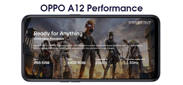 Oppo A12 performance