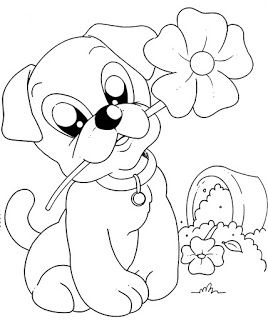 Dogs coloring pages 15