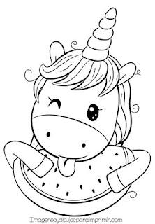 dibujo de unicornio