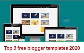free blogger templates 2020