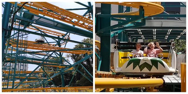 Pinball X roller coaster