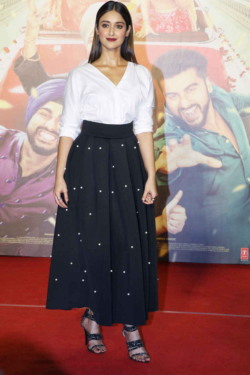 Ileana D'Cruz at Trailer Launch of Mubarakan at PVR Premiere In Mumbai