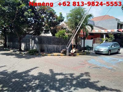 Rumah Dijual Sidoarjo,  Tanah Masih Luas, Dekat Tol ke Krian, Neneng 0813-9824-5553