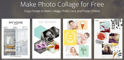 FotoJet: Free Tool For Creating Photo Collages
