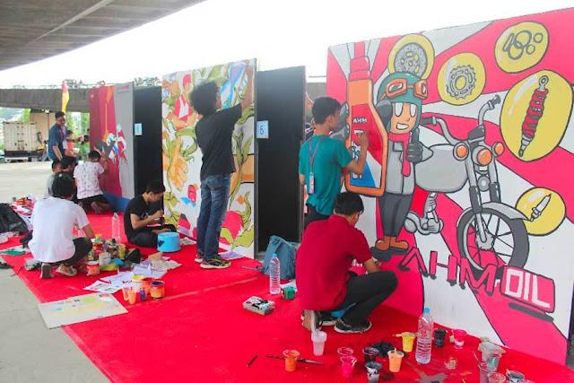 Keren, Berikut Inspirasi Membuat Lukisan Dinding, Ternyata Mudah