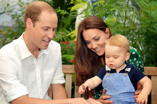 Prince William and Princess Catherine Gave Baby George Swimming Lessons