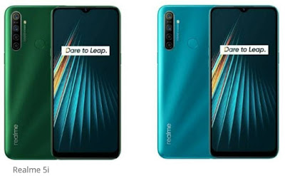 6 January ko launch Hoga Realme 5i
