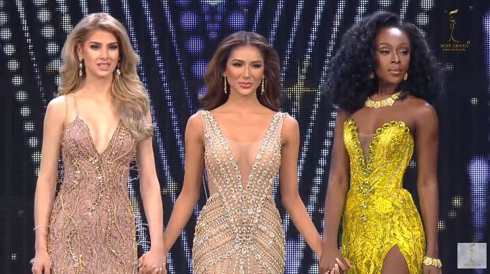 Miss Guatemala, Miss Philippines and Miss USA