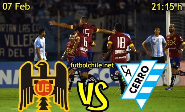 Ver stream hd youtube facebook movil android ios iphone table ipad windows mac linux resultado en vivo, online: Unión Española vs Atlético Cerro