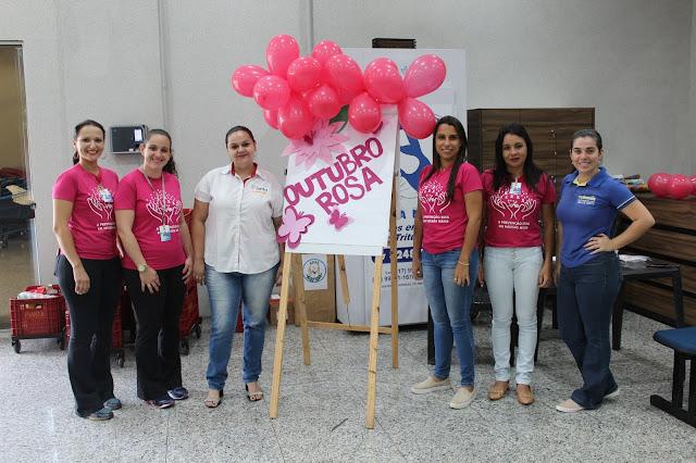 Mendonça participa do Outubro Rosa com ações em supermercado