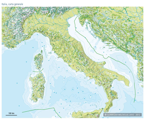 Cartina Geografica Italia Politica Muta.Cartina Muta Mari Italia