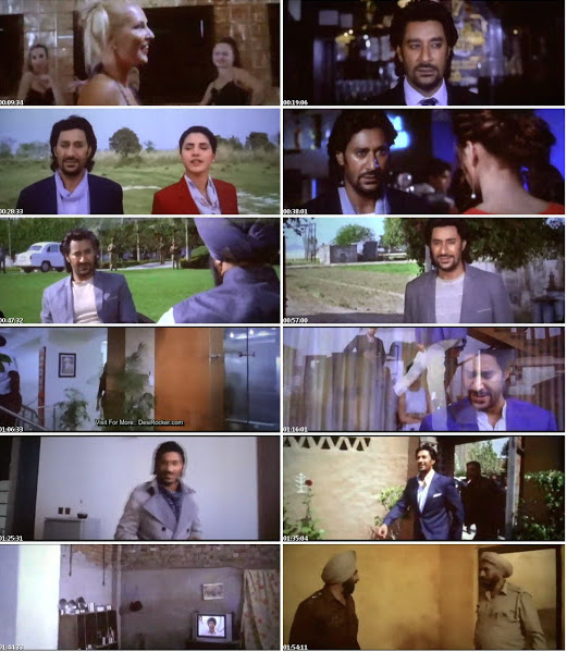 Gadaar The Traitor (2015) Punjabi Movie DVDScr