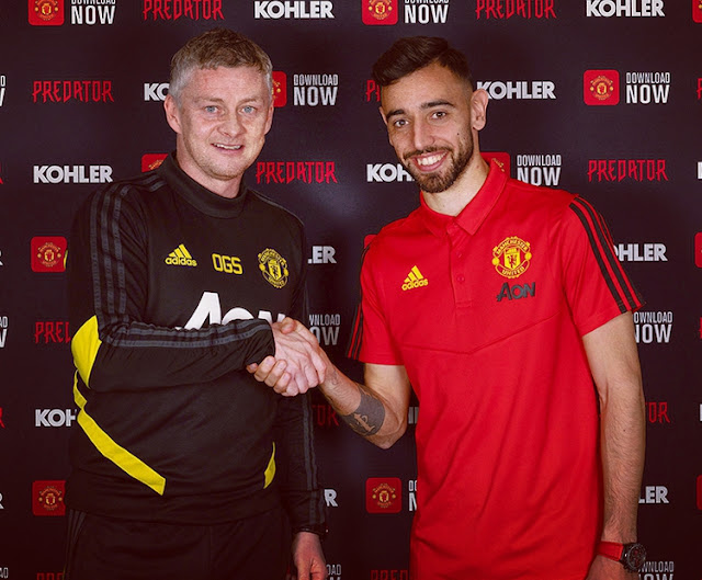 Transfer News: Bruno Fernandes Signs Deal With Manchester United