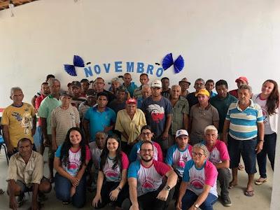 BARÃO DE GRAJAÚ | SECRETÁRIA MUNICIPAL DE SAÚDE INTENSIFICA AÇÕES DA CAMPANHA NOVEMBRO AZUL, NA ZONA RURAL