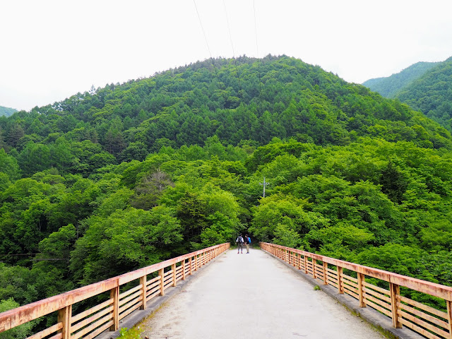 西沢渓谷 ネトリ大橋